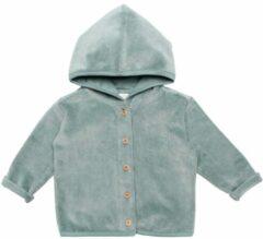 Moodstreet Petit baby velours vest Fedde groen
