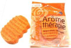 Oranje MartiniSpa-Aroma Therapie- Sinaasappel & Grapefruit - Ergonomische Badspons