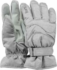 Licht-grijze Barts Goedkoopste Basic Ski dames vinger handschoenen
