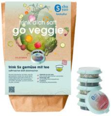 Shuyao Go Veggie Tee Set 10er mit 5x2 Tagesportionen