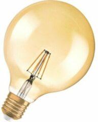 LED-lamp E27 Bol 4 W = 35 W Goud (Ã x l) 124 mm x 168 mm Energielabel: A++ OSRAM Filament / Retro-LED 1 stuks