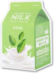 A'pieu - groen tea Milk One Pack Mask