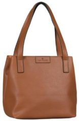 Naturelkleurige TOM TAILOR shopper »MIRI ZIP«