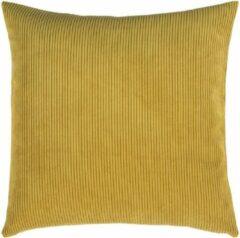 Gele Pad sierkussenhoes Casual yellow - 50x50 cm