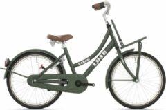 Bike Fun Load Meisjesfiets 20 Inch 33 Cm Meisjes Terugtraprem Donkergroen