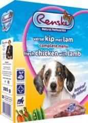 Renske Vers Vlees Hondenvoer Puppy - 10 Kuipjes x 395 gr