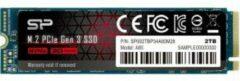 Silicon Power Ace-A80-SSD-PCIe Gen 3x4-256GB-PCIe Gen3 x 4 & NVMe 1.3 / SLC cache / DRAM cache - Max 3400/3000 Mb/s