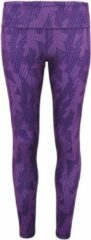 Paarse Women's TriDri® performance crossline legging full-length, Kleur Puple, Maat L