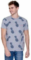 MZ72 - Heren T-Shirt - Torsade - Grijs