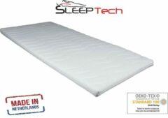 Witte SleepTech Topdekmatras - Topper Koudschuim - HR- 7CM - 140x200 cm