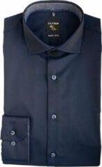 Donkerblauwe Olymp 254264 Business overhemd - Maat 36 - Heren