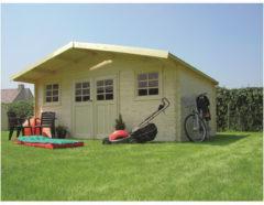 Solid tuinhuis 'Montreux' hout 23,46 m²