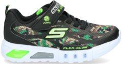 Skechers S-Lights Klittenbandschoen Jongens Groen/Meerkleurig/Zwart