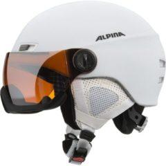 Witte Alpina Menga JV ski helmet with Visor, Matt Black