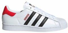 Witte Adidas Superstar X Run DMC - Heren Schoenen