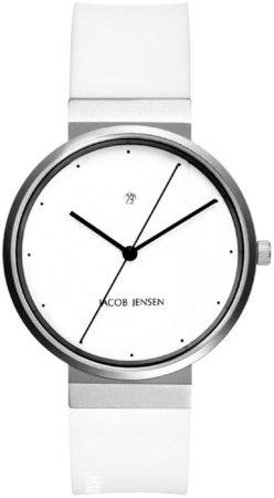 Afbeelding van Zilveren Jacob Jensen watches herenhorloge New 754