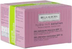 Bella Aurora HYDRA RIJK intensieve vochtinbrengende crème tegen vlekken SPF15 Crèmes tegen vlekken