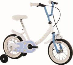 12 Zoll Kinder Fahrrad Orbita Moon... weiß-blau