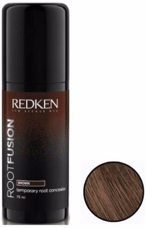 Afbeelding van Redken - Root Fusion - Temporary Root Concealer - Brown - 75 ml