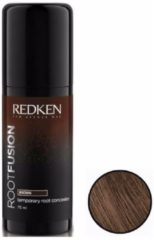 Redken - Root Fusion - Temporary Root Concealer - Brown - 75 ml