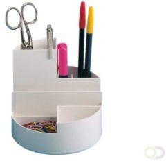 Maul Bureaustandaard Roundbox, wit