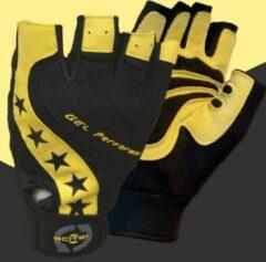 Gele Scitec Nutrition - Trainingshandschoenen - Workout Gloves - Men - Power Style - M
