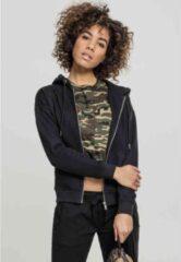 Urban Classics Vest met capuchon -S- Zip Hoody Zwart