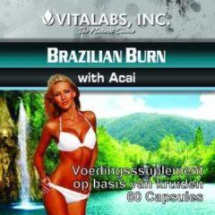 Vitalabs VitaTabs Brazilian Burn met Acai - Vetverbrander - 60 capsules - Voedingssupplementen