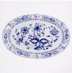 Platte oval Zwiebelmuster Kahla Weiß, Blau
