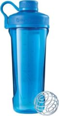 Blauwe BlenderBottle Radian Tritan - Eiwitshaker / Bidon - 940ml - Fullcolor Cyan