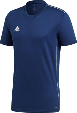 Afbeelding van Adidas Core18 Jersey Heren Sportshirt - Maat L - Mannen - blauw