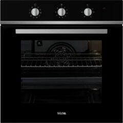 Zwarte ETNA OM165ZT - inbouwoven - 60 cm
