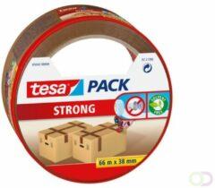 1x Tesa verpakkingstape bruin 66 mtr x 38 mm - Klusmateriaal - Verpakkingsmateriaal - Inpakmateriaal - Verpakkingsbenodigdheden - Verpakkingstape/inpaktape - Dozen afsluittape