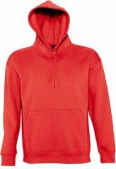 SOLS Slam Unisex Hooded Sweatshirt / Hoodie (Rood)