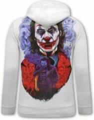 TONY BACKER Joker Hoodies Heren - Wit - Maten: L