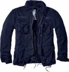 Marineblauwe Brandit Jas - Jack - M65 - Giant - zware kwaliteit - Outdoor - Urban - Streetwear - Tactical - Jacket Jack - Jacket - Outdoor - Survival Heren Jack Maat XXL