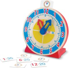 Rode Melissa & Doug - Turn & Tell Clock