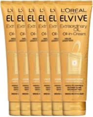 L'Oréal Paris Loreal Paris Elvive Extraordinary Oil-In-Cream Haarcreme Tube Voordeelverpakking