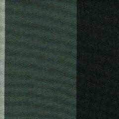 Acrisol Sahara Negro 71 gestreept grijs zwart stof per meter buitenstoffen, tuinkussens, palletkussens