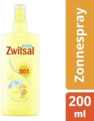 Zwitsal Zonnespray Kids SPF50+ Waterresistent en voor de gevoelige huid - 200 ml