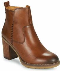 Bruine Boots en enkellaarsjes Pompeya W9T-8594 by Pikolinos