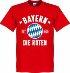 Retake Bayern Munchen Established T-Shirt - Rood - XS