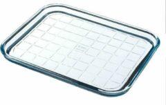 Pyrex Bake & Enjoy Bakplaat - Borosilicaatglas - 32x26x2 cm - Transparant