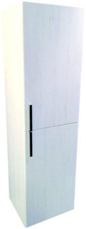 Afbeelding van Douche Concurrent Half hoge kolomkast Lours L&R 120x35x30 cm Glans-Wit