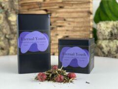 Moments Eternal Youth - losse biologische groene thee - kruiden smaak - 75 gram - ± 30 kopjes