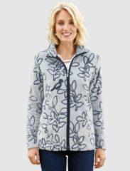 Blauwe Fleece vest Paola Ecru::Marine