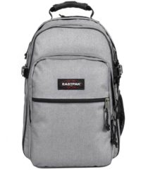 Grijze Eastpak Tutor Rugzak - 15 inch laptopvak - Sunday Grey