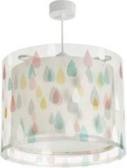 Dalber Gekleurde regendruppel hanglamp kinderkamer - Hanglamp - Veelkleurig