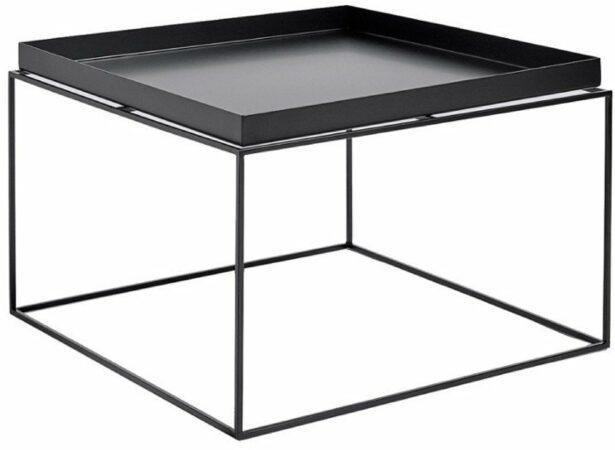 Afbeelding van Zwarte HAY - Tray Table 60 x 60 cm - Black (102507) /Living room