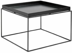 Zwarte HAY - Tray Table 60 x 60 cm - Black (102507) /Living room